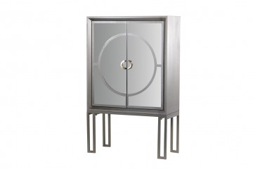 CABINET CHAMPAGNE ESPEJO 100x45x160 CM