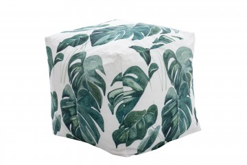TABURETE / PUFF TROPICAL 45x45x45 CM