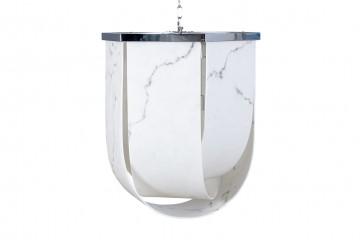 LAMPARA TECHO GAROUR 61x61x70 CM