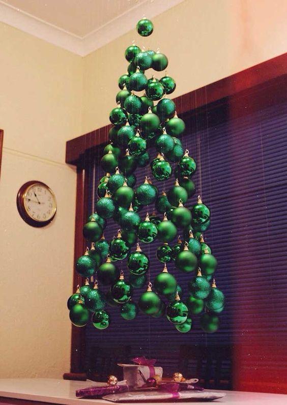 Árbol de Navidad flotante