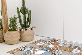 Decoración con alfombras vinílicas
